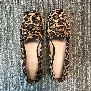 Leopard Flats Loafers  - Something Navy - Sz 9.5
